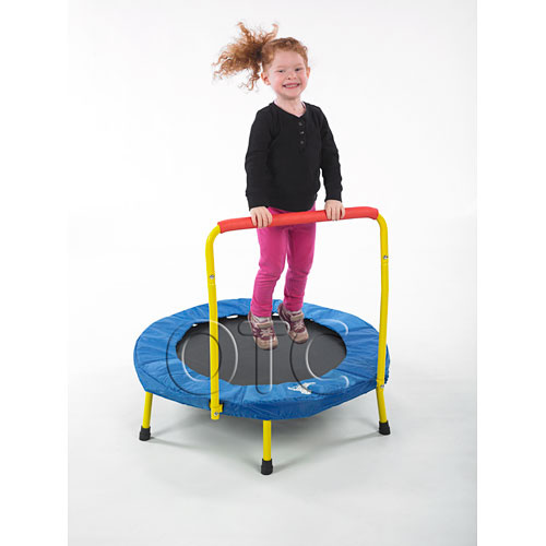 The Fold & Go Trampoline has been designed to offer you the finest childrens bouncer on the market today.