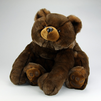 A most delightful Teddy Bear! A very favorite bear as he can't be kept in stock!
