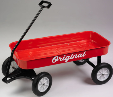Kids will have this wagon with them where ever they go carrying around their priceless possessions whatever they may be! This wagon has created many fond memories in kids generations before and does so again for your child!