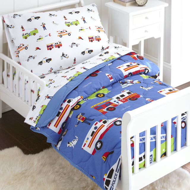 Toodler's 4 pc. Bed Set