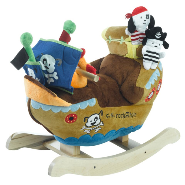 Ahoy, Doggie Pirate Ship