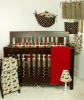 Houndstooth - 7pc Crib Bedding Sets