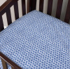 Zebra Romp - Fitted Crib Sheet